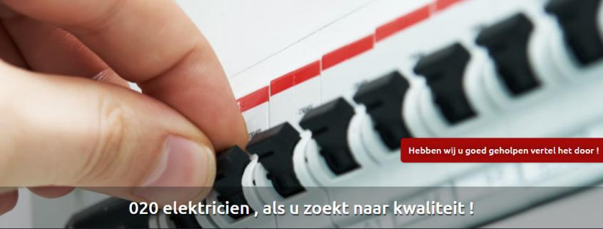 elektricien stroomstoring amsterdam